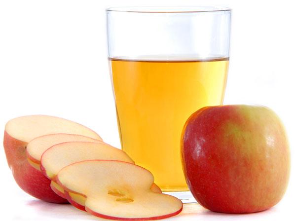Giấm táo điều trị bệnh viêm họng, ho