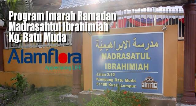 Program imarah Ramadan Surau kg batu muda oleh Alam Flora