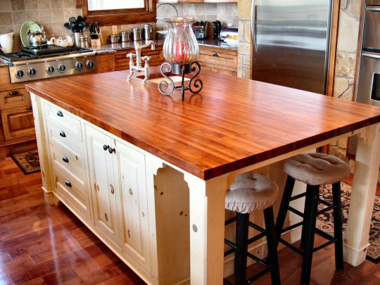 Wood Kitchen Countertops | Kitchen Ideas