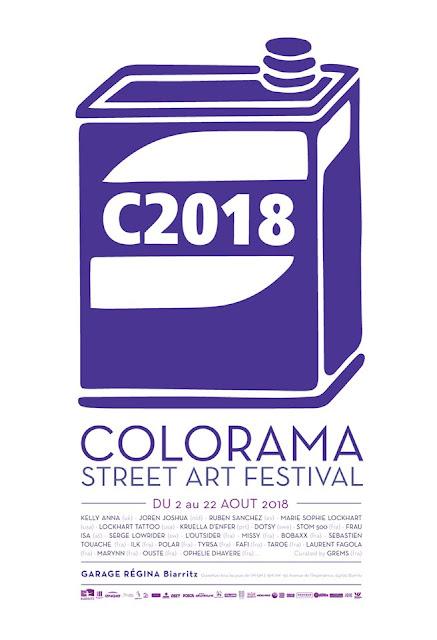 Colorama Street Art Festival Biarritz 2018