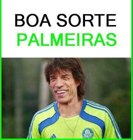 5a58daff80ecd Antiporco: Mick Jagger - Torcedor do Palmeiras