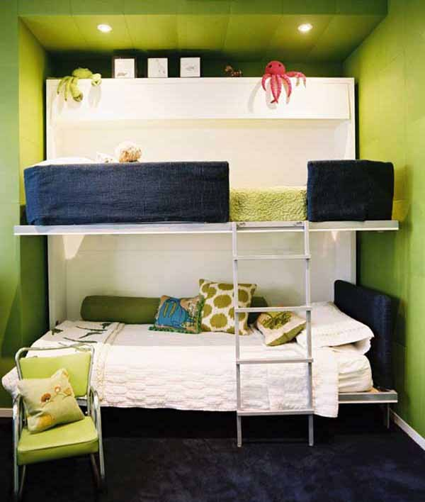 46 Ide Desain Unik Kamar Tidur Tingkat Minimalis - Rumahku ...