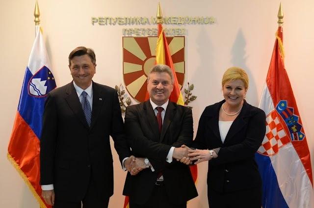 Kroatiens Präsidentin fordert Unterstützung für Mazedonien