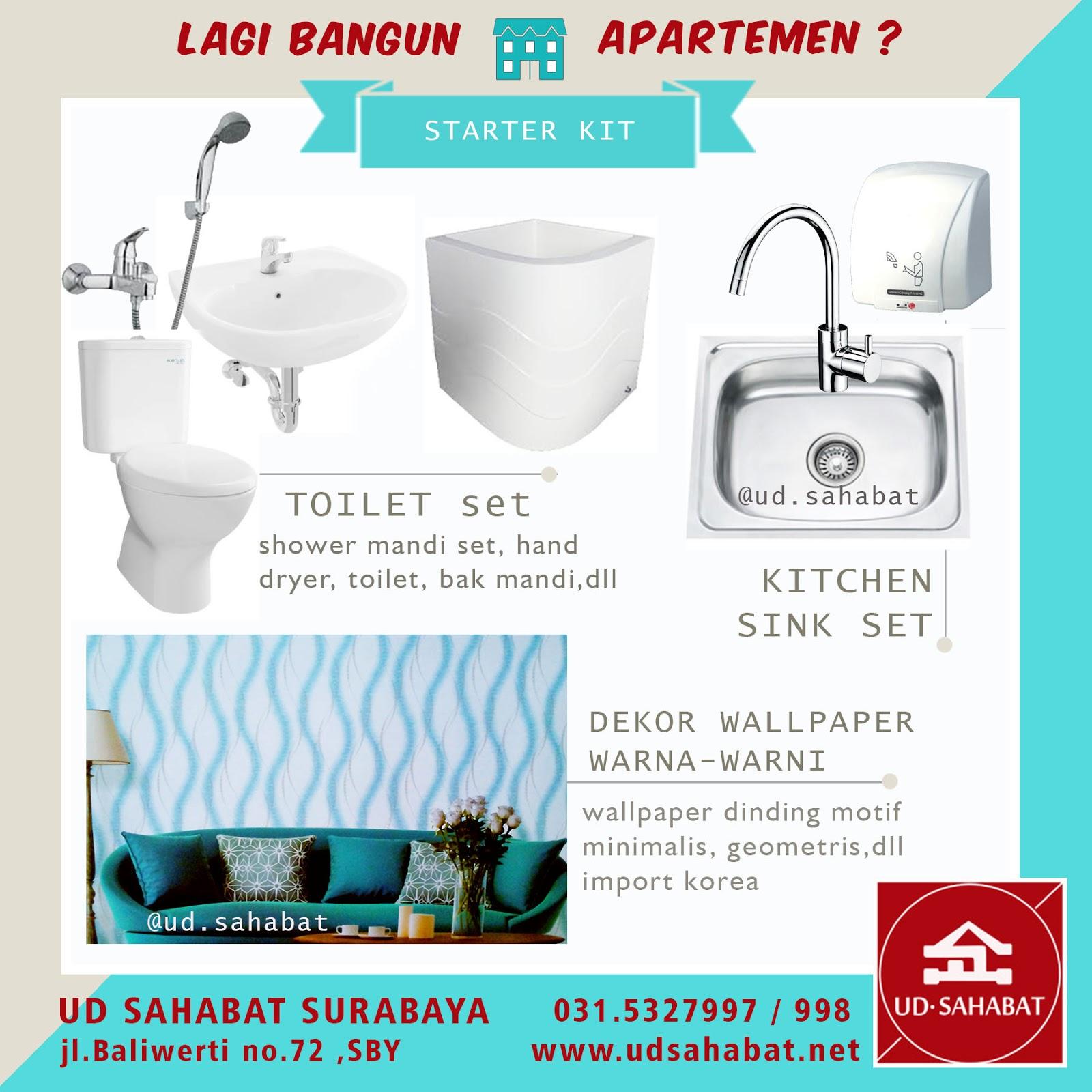 jual sanitary wastafel kloset kamar mandi ud sahabat surabaya
