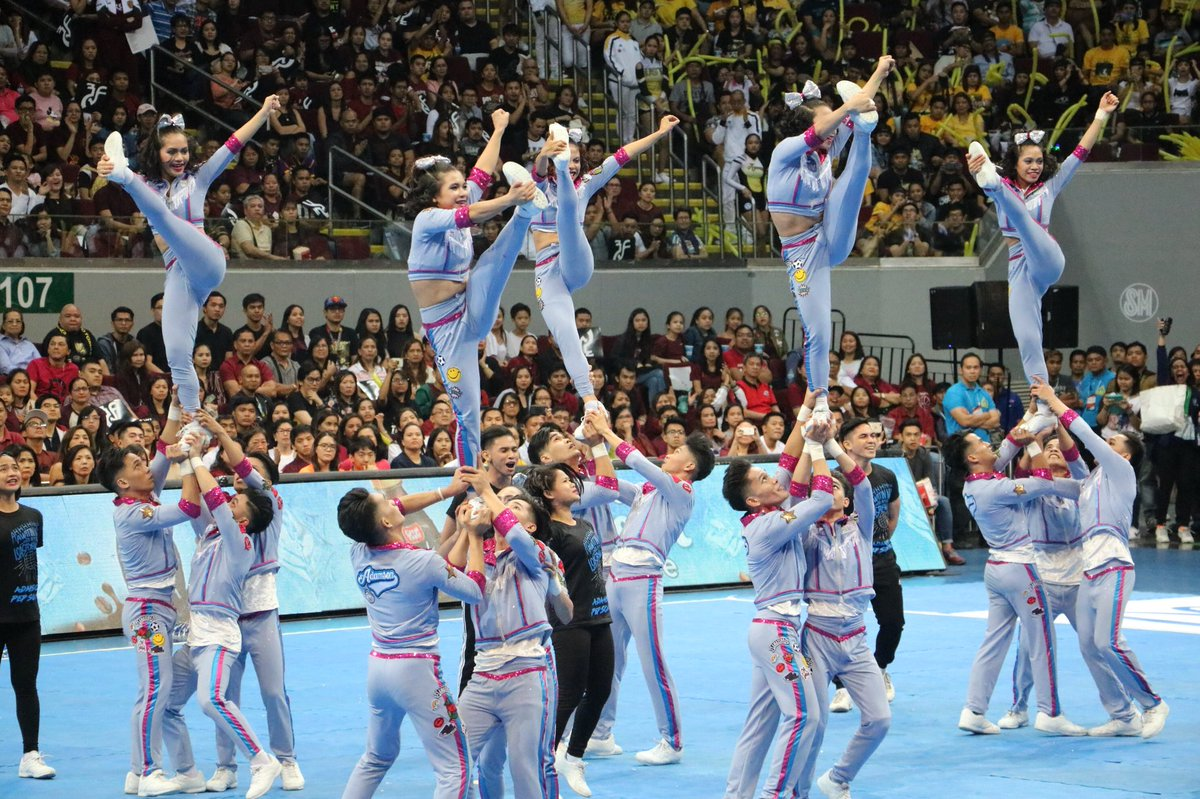 Adamson Pep Squad winner cheerdance 2017