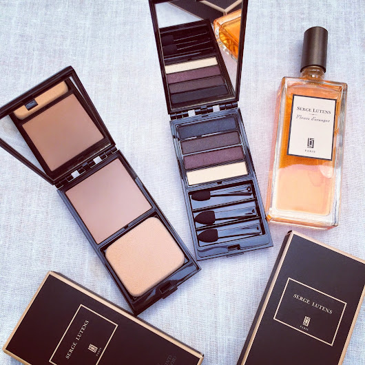 The intensely luxurious Serge Lutens makeup and perfume....