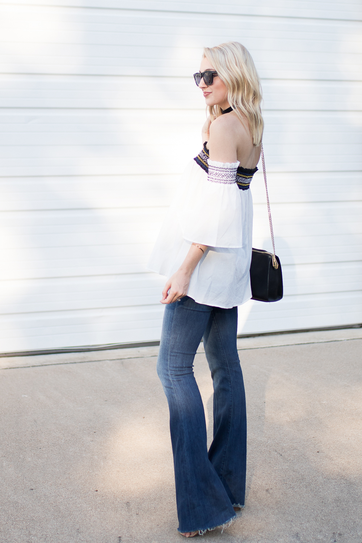 Bell sleeves & bell bottoms