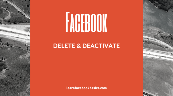Delete my account Permanently | Delete And Deactivate Facebook Account