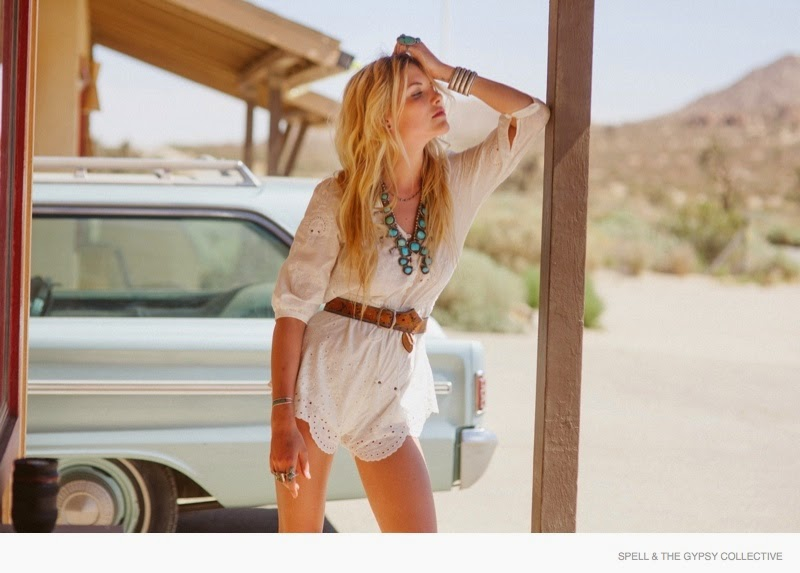 Spell and the Gypsy Collective Holiday 2014 Campaign featuring Ashey Smith