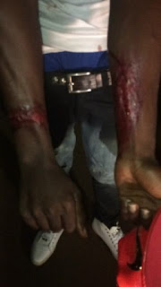 Video: Nigeria Police brutally beats 22 years old Nigerian singer