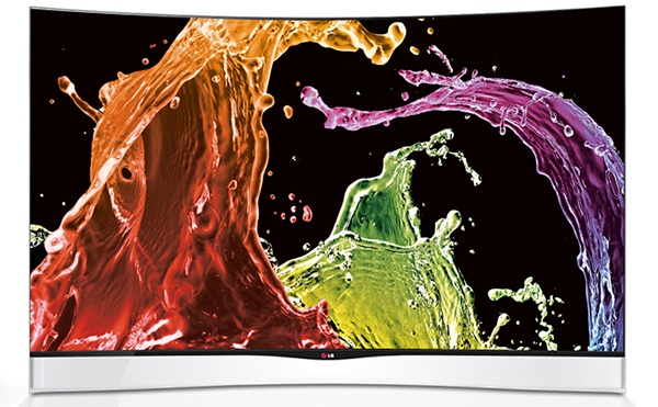 LG 55-inch Curved OLED TV