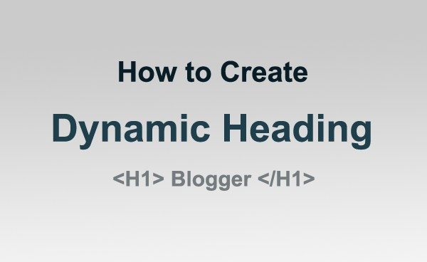 Dynamic Heading SEO
