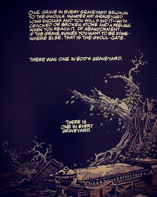 the graveyard book panel by Tony Harris/Scott Hampton