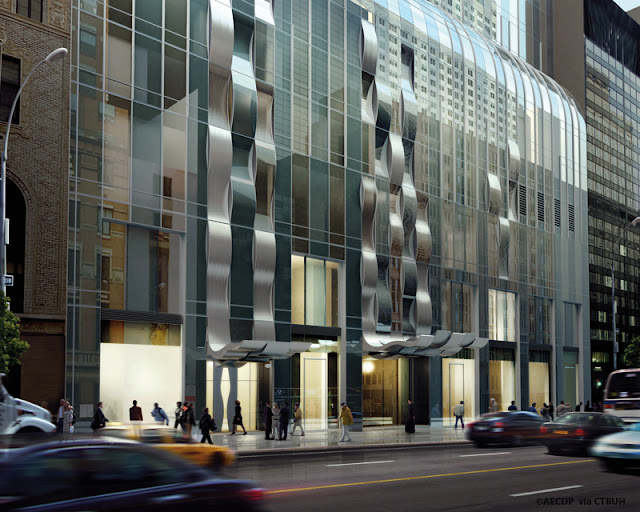 Photo of street level entrance of One57
