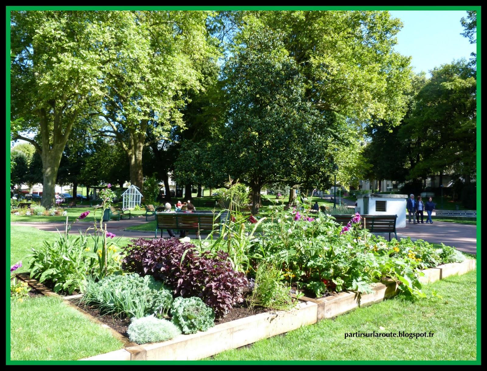 Partir sur la route aix les bains 73 aout 2014 for Jardin lamartine