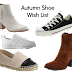 Autumn Shoe Wish List