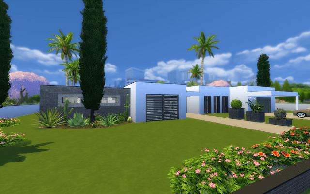 villa Sims 4 à télécharger