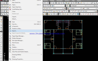 Export File Autocad
