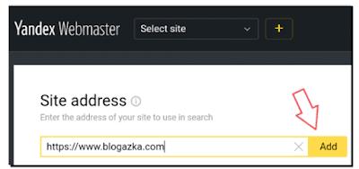 Submit blog ke Yandex Webmaster