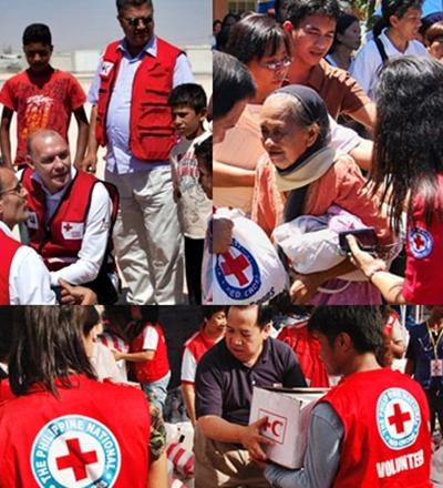 Voluntários Cruz Vermelha - Sorriso na Web
