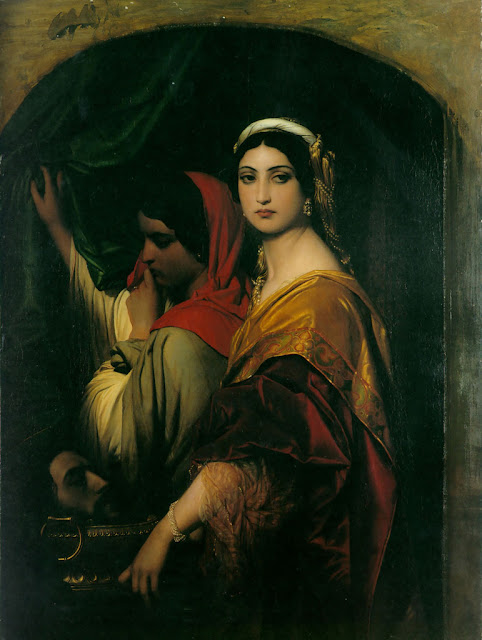 Herodias par Paul Delaroche