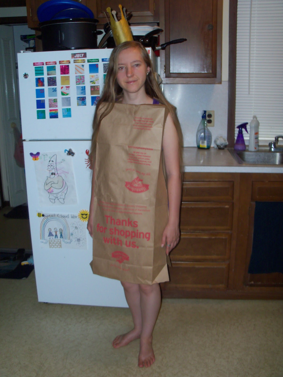 Three Cheap and Easy Halloween Costume Ideas  sc 1 st  Amberu0027s Craft a Week Blog & Amberu0027s Craft a Week Blog: Three Cheap and Easy Halloween Costume Ideas