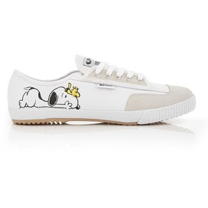 Fe Lo Snoopy trainers in white, GBP 44 from Fei Yue