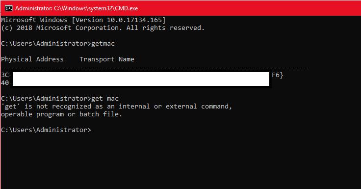FIND IP ADDRESS AND MAC ADDRESS OF COMPUTER