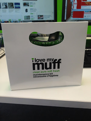 I love my muff packaging