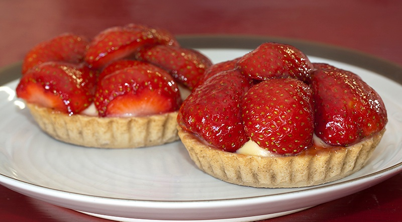 Irish Strawberry Tartlet