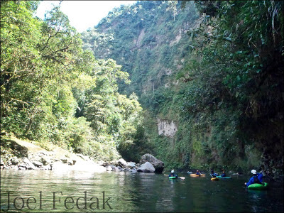 Feeling small in the steep canyons of Colombia, Joel Fedak, Chris Baer,