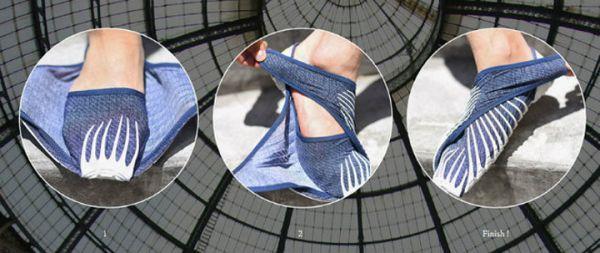 Furoshiki Shoes Vibram