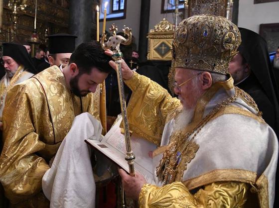 Патріарх надав українцеві нове черенече ім'я Іаковос (Яків).