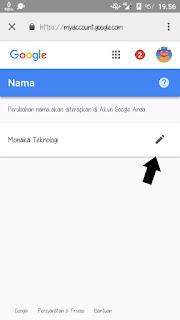 Mengubah Nama Profile Gmail Di Android