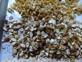 Granola Bar - Chopped Nuts