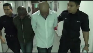 Photos: Two Nigerian college students sentenced to death in Malaysia for drug trafficking
