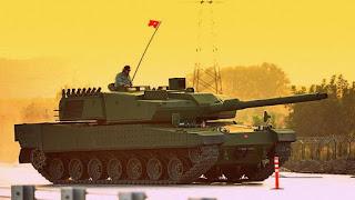 В Турции договорились о производстве первых 250 танков Altay