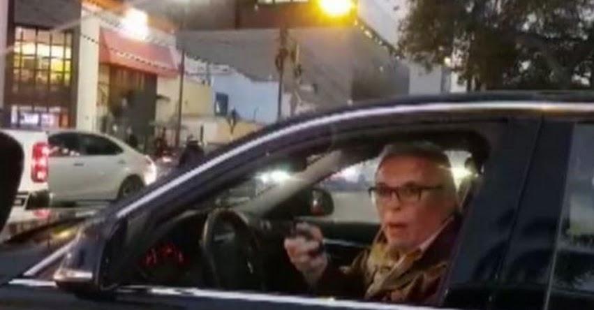 Universidad ESAN aclara que Manuel Liendo Rázuri, peligroso anciano que amenazó con pistola en San Isidro no es docente