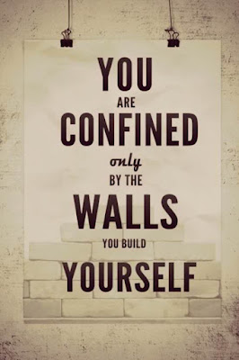 you-are-confined-only-by-the-walls-you-build-yourself-whatsapp-dp