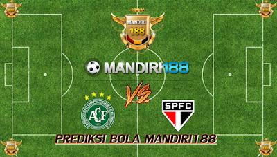 AGEN BOLA - Prediksi Chapecoense vs Sao Paulo 17 Juli 2017