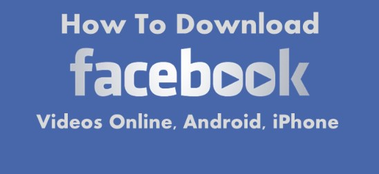 Download facebook video download online