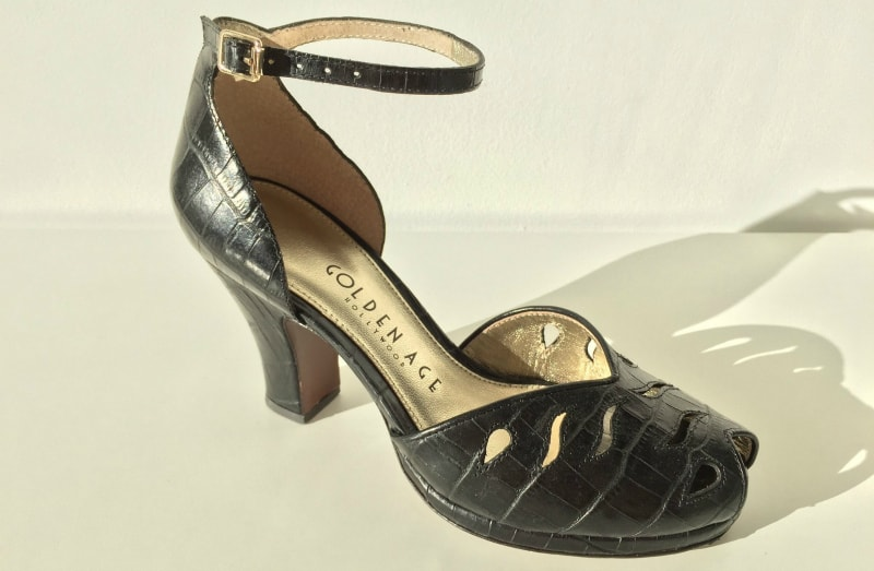 old hollywood vintage shoes