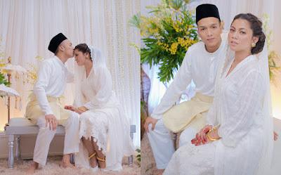 Perkahwinan Artis Malaysia 2018, Penceraian Dan Perkahwinan Artis Malaysia 2018, Pernikahan Artis Malaysia, Selebriti Malaysia, Penyanyi, Pelakon, Kaka Azraff Kahwin, Perkahwinan Kaka Azraff dan Adam Azriff,