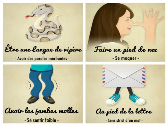 expression avec le corps humain