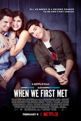 When We First Met Poster
