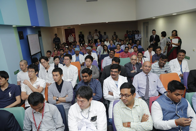 A group of 15 Neurosurgeons from Japan are going to undergo 3 days training on Neurosurgical procedures of brain and spine in Bengaluru