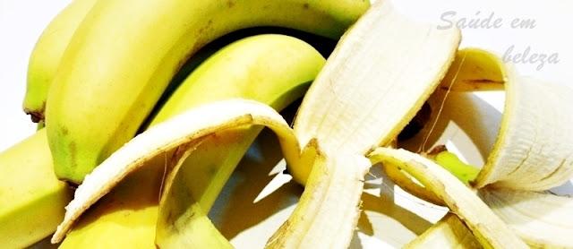 Benefícios da casca da banana na saúde da pele e da beleza