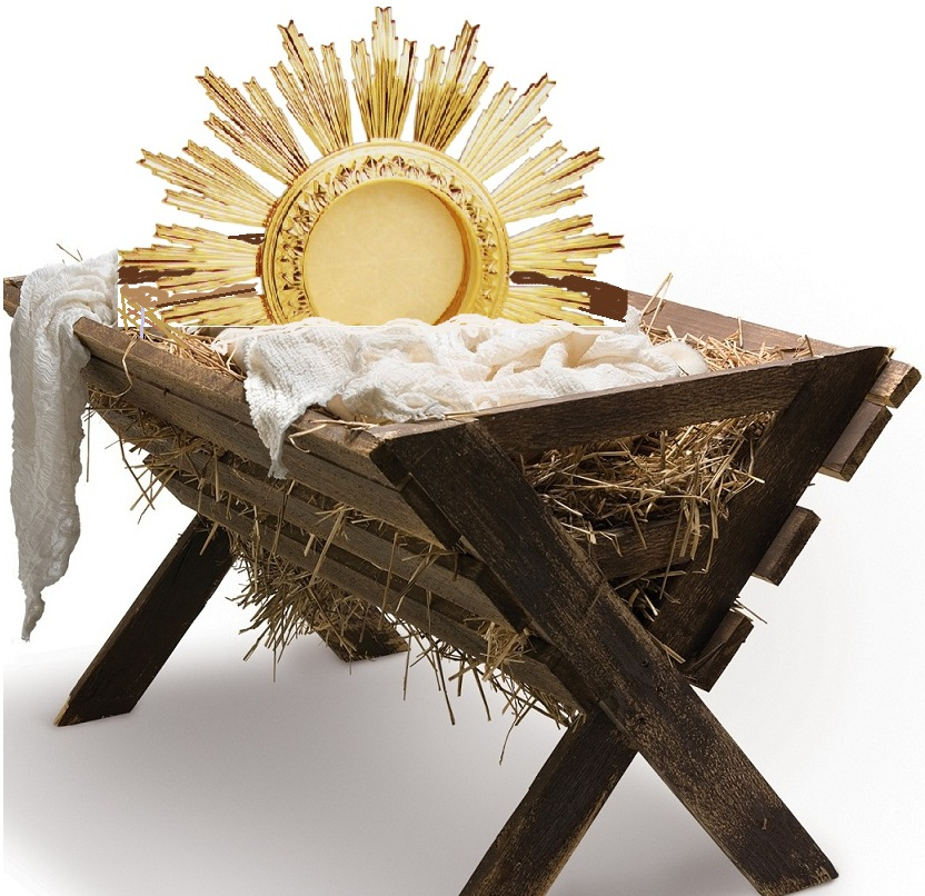 Image result for eucharist and nativity