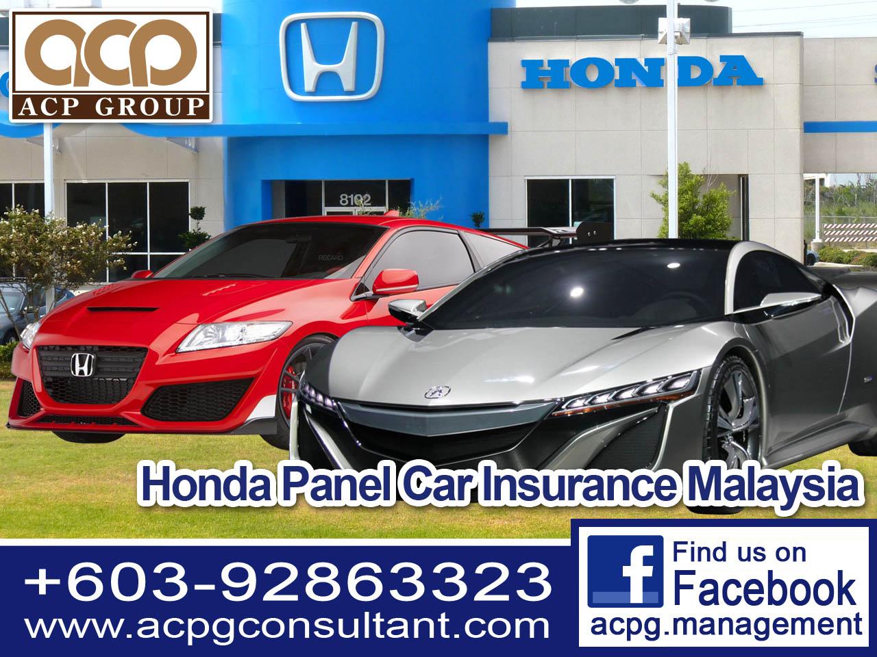 Honda Car Panel Motor Insurance Kuala Lumpur Directory