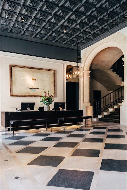 Sant Francesc hotel singular en Mallorca hall chicanddeco